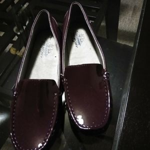 Burgundy Lifestride Loafers